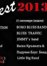 Блус Трафик на Полинеро Рок Фест 2013 - Blues Traffic на PolineROOOCK Fest 2013